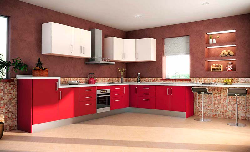 Cocinas de madera modernas mm for Ver modelos de muebles de cocina