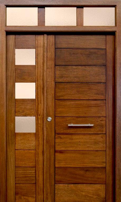 Puertas de exterior modernas mm for Puertas macizas exterior