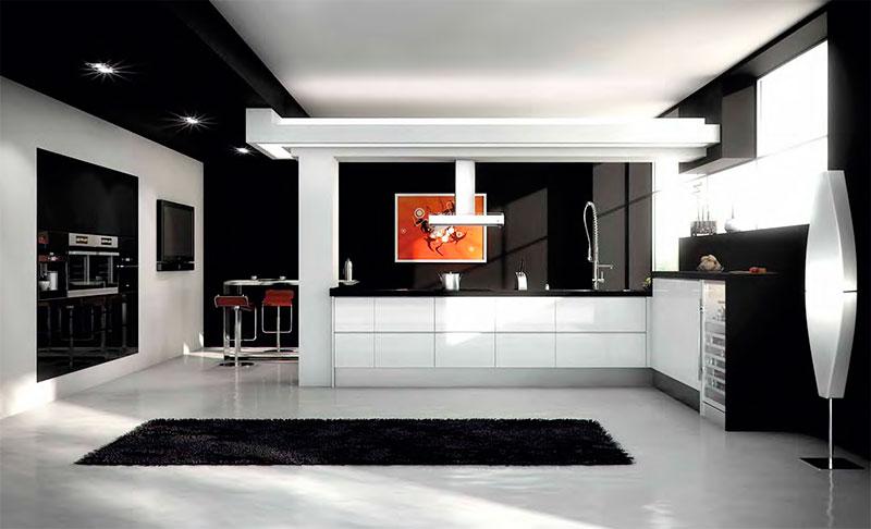 Cocina modelo cocina moderna 9 mm - Modelos cocinas modernas ...