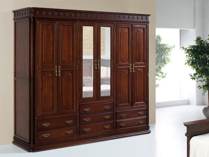 Muebles de madera mm for Armario de madera conforama
