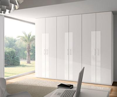 Lacar en blanco puerta castellana antes de lacar en - Armario blanco lacado ...