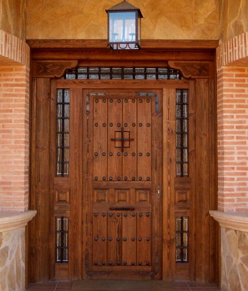 Puertas de exterior r sticas mm for Puertas macizas exterior