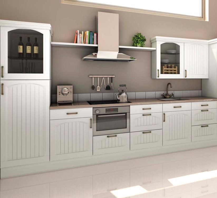 Cocinas de madera r stica mm for Puertas de cocina rusticas