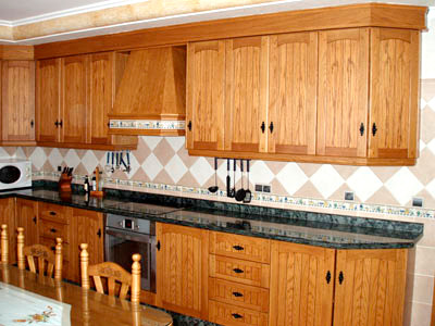 Cocinas de madera r stica mm - Cocinas de material rusticas ...