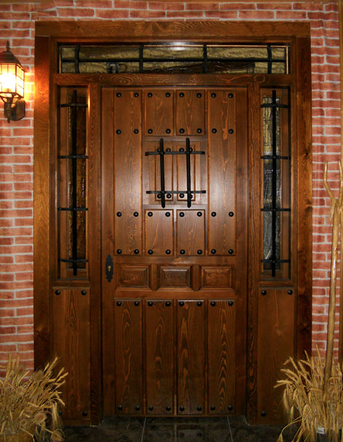 Puertas rusticas pictures to pin on pinterest pinsdaddy - Puerta madera rustica ...