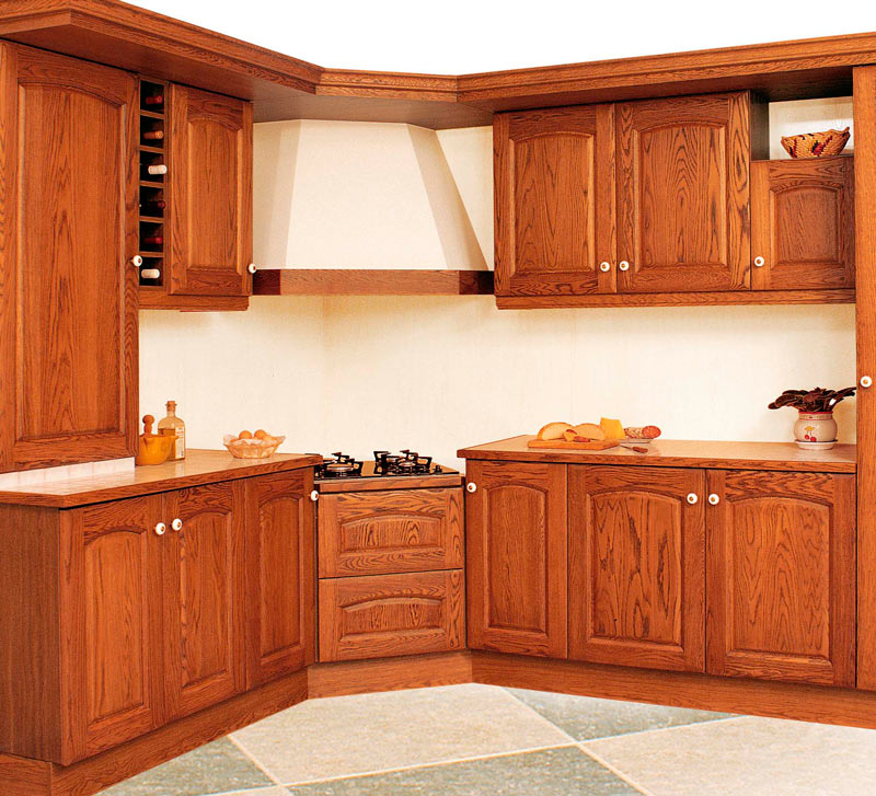 Cocinas de madera r stica mm for Cocinas integrales rusticas