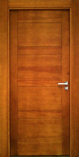 Puerta madera interior detalles puerta interior tarima en for Precio puertas interior madera maciza