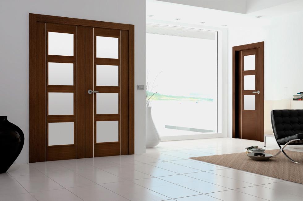 Puertas de aluminio doble hoja elegant puerta de ducha Duchas modernas puerto rico