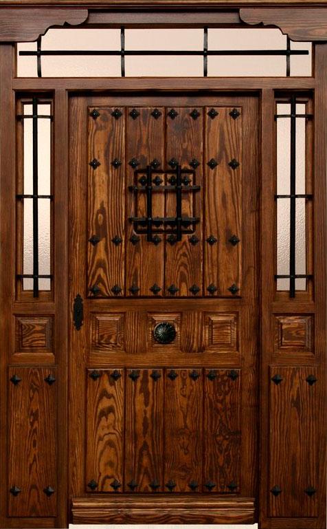 Puertas de exterior r sticas mm - Herrajes rusticos para puertas ...